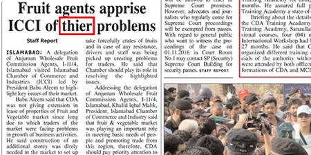 <p><strong>Daily Times</strong>, October 30, 2016</p>