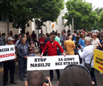 Hundreds Protest Gun Attack On Journalist In Montenegro