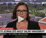 Online harassment is the largest safety concern for female journalists, new study finds