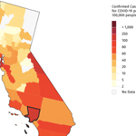 Stanford University, Google Create Coronavirus Maps for Journalists
