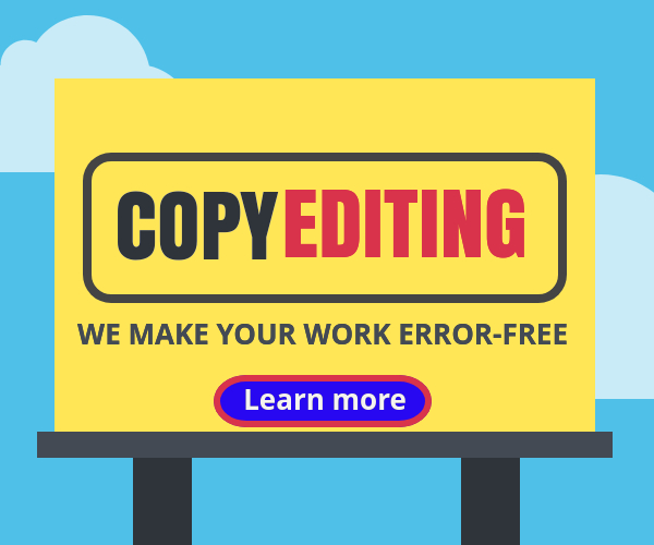 Copyediting error free your work