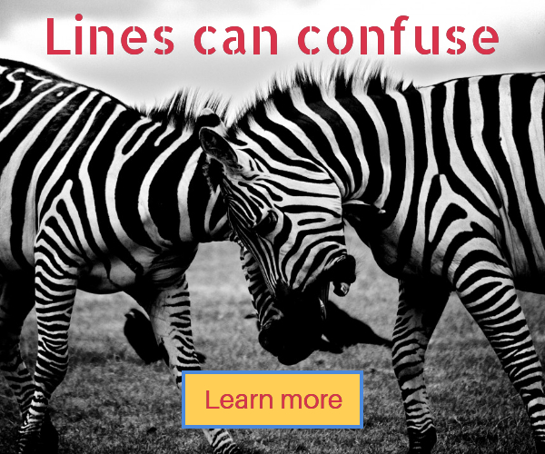 Lines can confuse