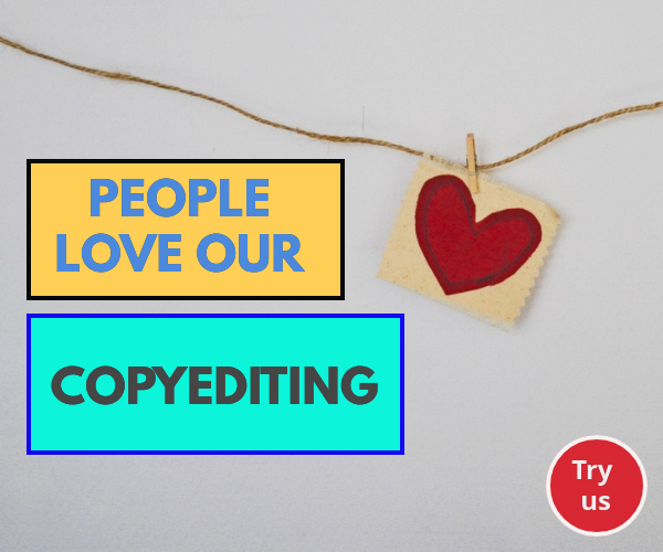 People love our copyediting