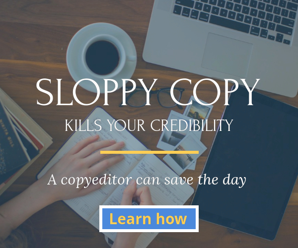 Sloppy copy kills your credibility