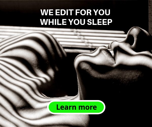 We edit for you while you sleep