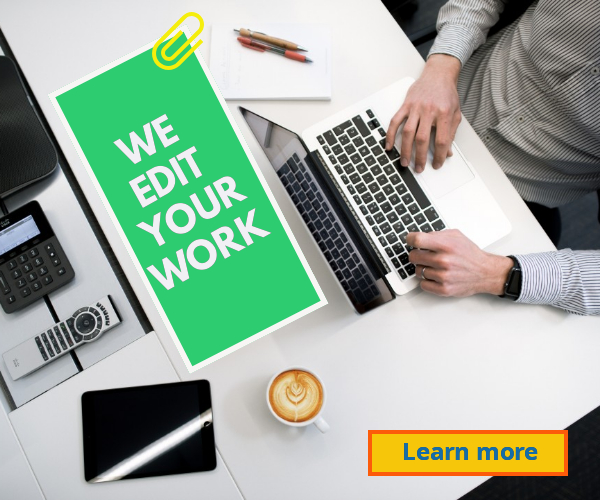 We edit your work