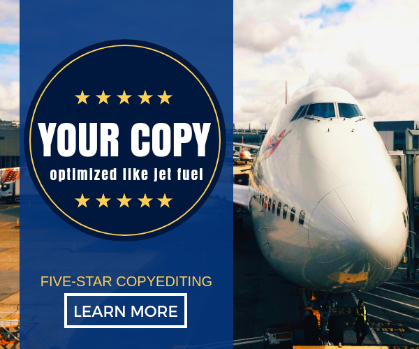 Your copy optimized like jet fuel