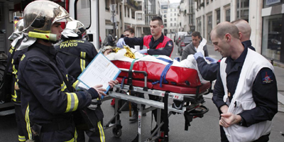 12 dead in 'terrorist' attack on Paris paper