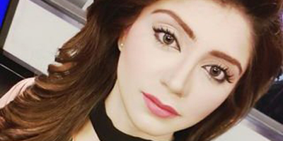 92 News journalist Irza Khan suffers no major injuries after falling from crane