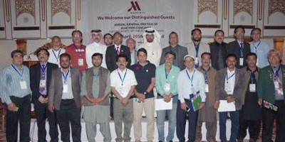 Amjad Aziz elected PSWF President unopposed