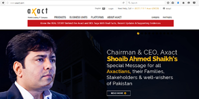 Axact.com back up after almost 15 months