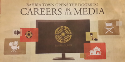 Bahria Town advertises positions for television channel