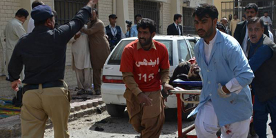 DawnNews, Aaj cameramen among 70 killed in blast at Quetta Civil Hospital