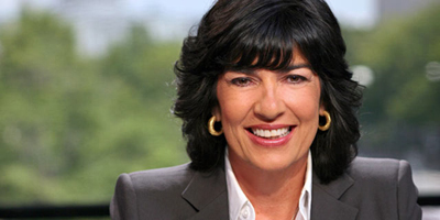 Amanpour named UNESCO Goodwill Ambassador for Freedom of Expression
