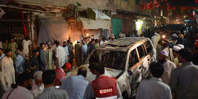 Daily Pakistan journalist killed at ANP rally
