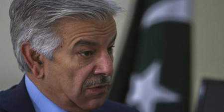 Duped by fake news, defence minister Khawaja Asif makes nuke threat to Israel