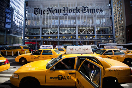 Fake online editorial fools New York Times