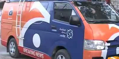 Gunmen attack Geo DSNG van, one killed