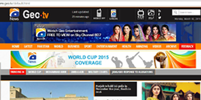 Geo News website to be revamped