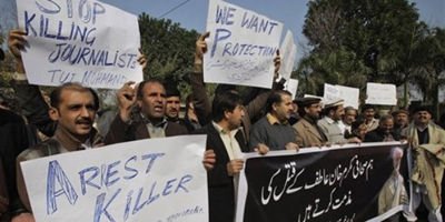 Group highlights dangers for Pakistani journalists