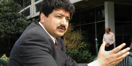 Hamid Mir receives international award in Holland