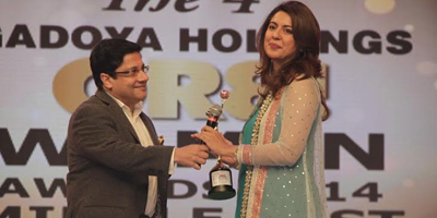 Honor for television host Sidra