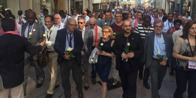 IFJ affiliates remember journalists killed in line of duty