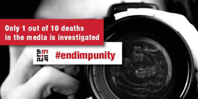 IFJ launches global campaign to end impunity for crimes against journalists