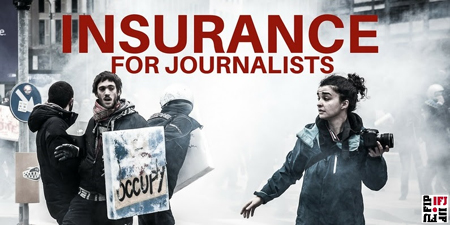 IFJ launches 'by journalists for journalists' insurance scheme