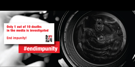 IFJ marks UN Day against impunity for crimes targeting journalists