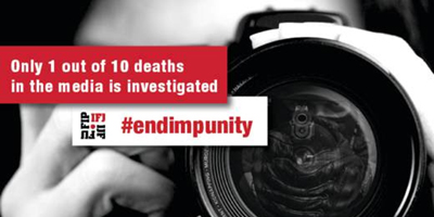 IFJ urges cooperation to end impunity for violence in journalism