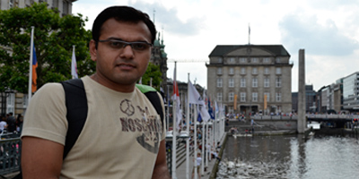 In Berlin, a Pakistani journo hones his skills
