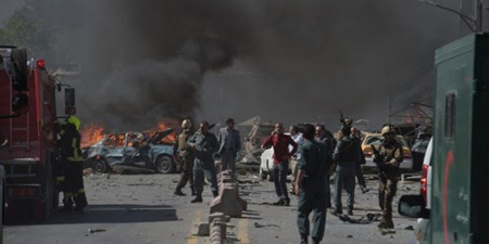 Journalists among victims in Kabul bomb blast