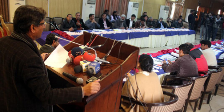 Journalists demand early federal and provincial laws on their safety