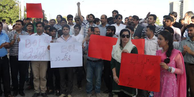 Let BOL speak: Journalists protest against 'seth media'