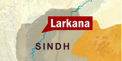 Journalists in Larkana protest arrest of colleague
