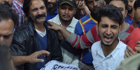 Killing of Samaa TV staffer Taimoor Abbas mourned