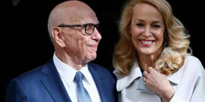 84-year-old media mogul Murdoch weds former supermodel