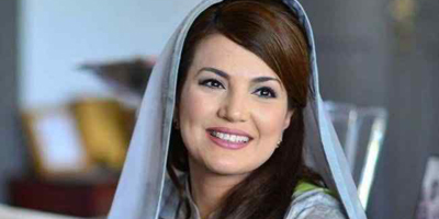 Neo TV shows Reham Khan the door