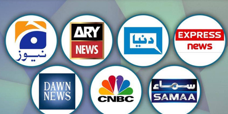 News and current affairs TV channels back on air