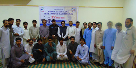 Pakistan-US Alumni Network KP organizes training on media ethics