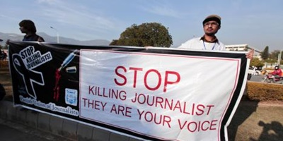 Pakistani journalists live in growing fear of violence: watchdog