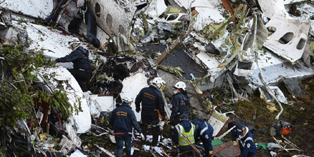 Plane crash kills Brazilian football team, 21 journalists