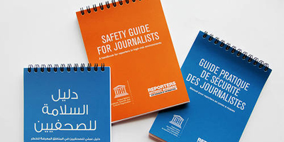 RSF, UNESCO launch new safety guide for journalists in high-risk environments