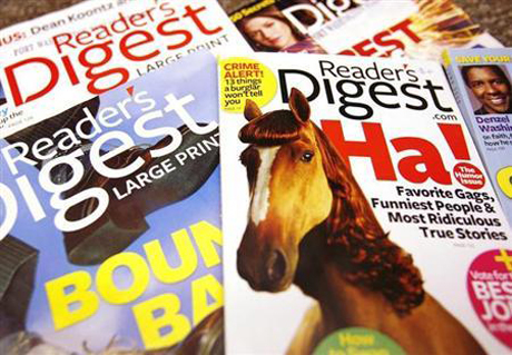 Reader's Digest parent Co files for bankruptcy