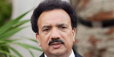 Rehman Malik seeks ban on satirical TV programs