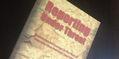 Reporting Under Threat: Adnan Rehmat's book launched
