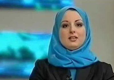 Veiled news anchor appears on Egypt state TV