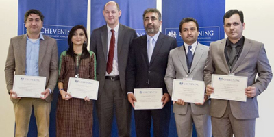 Seven journalists selected for Chevening SAJP Fellowship