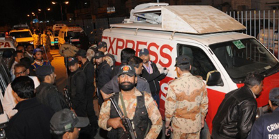 Taliban ambush Express TV van, kill three